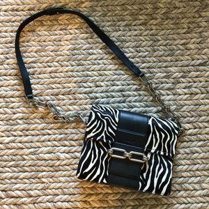 Michael Kors Bags - MICHAEL KORS COLLECTION Cate Medium Zebra Calf Hai
